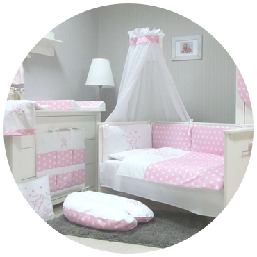 Romantic Wicker Moses Basket Stand Big Wheels Bedding With Lace Drape Ebay